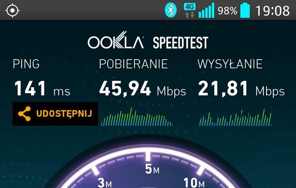 Orange – Internet mobilny przyspiesza