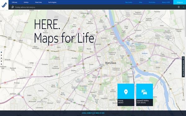 Mapy HERE od Nokii – odkrywam na nowo