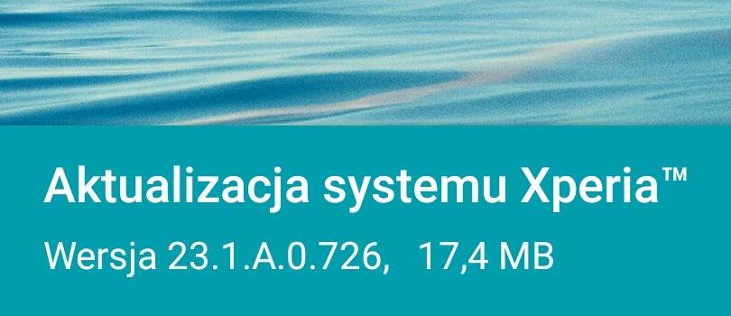 Aktualizacja Sony Xperia Z3