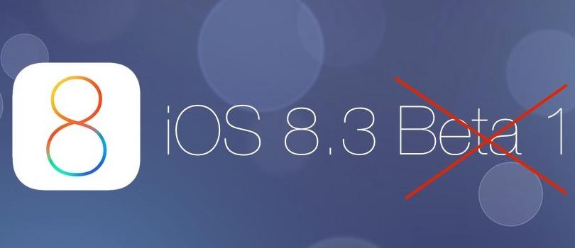 iOS 8.3 – gotowy do pobrania