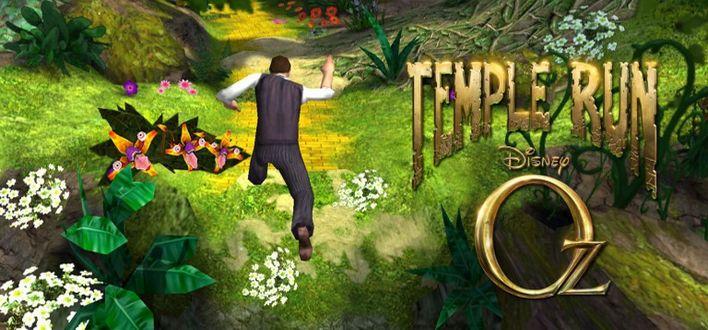 Aplikacja za 50 groszy – Temple Run: Oz