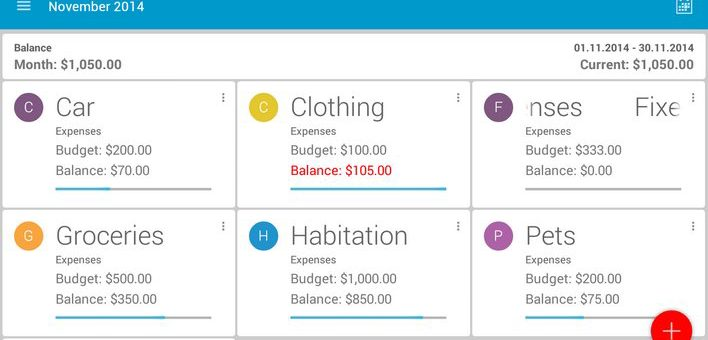 Aplikacja za 50 groszy – Our Budget Book Pro