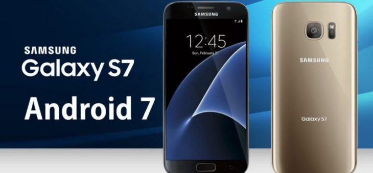Samsung Galaxy S7 edge – Android 7.0 Nougat XEO