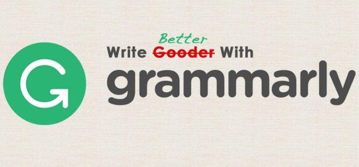 Grammarly – sposób na poprawne pisanie po angielsku