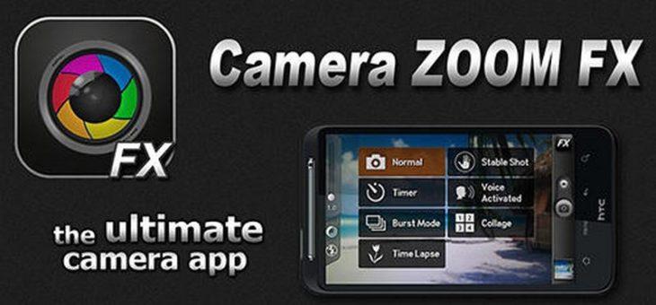 Aplikacja za 50 groszy – Camera ZOOM FX Premium